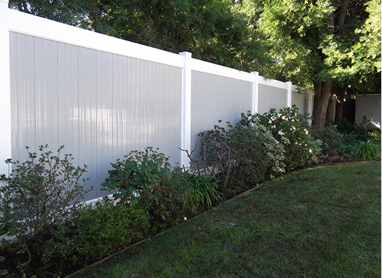 two tone vinyl pvc fence Hayward ca